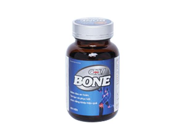Hình ảnh lọ viên uống GHV Bone