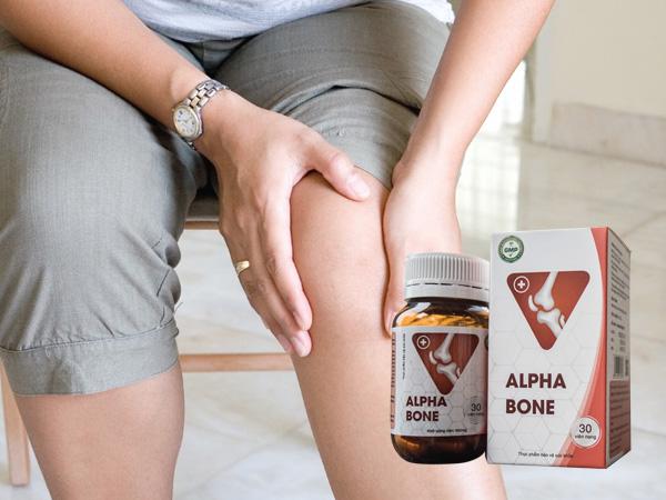 Alpha Bone - cải thiện tình trạng đau nhức khớp