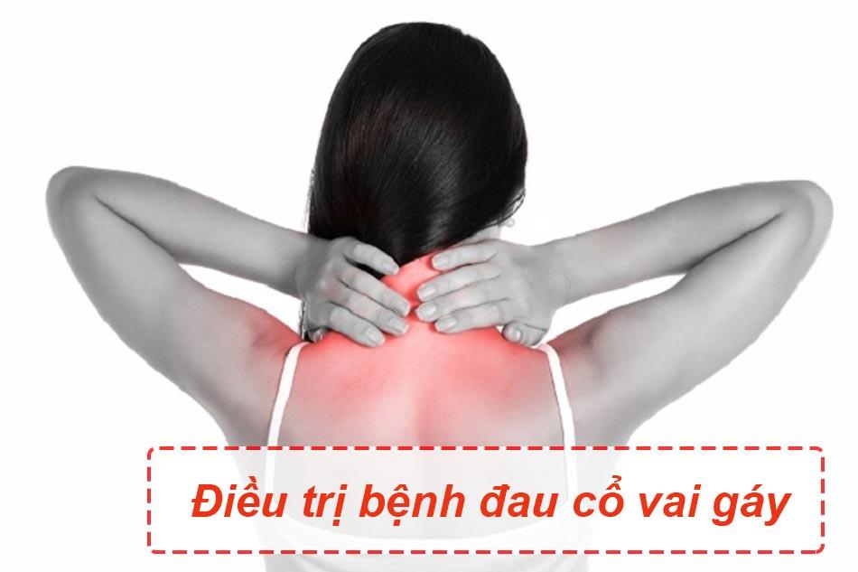 Cách điều trị đau cổ vai gáy